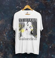 My Bloody Valentine T Shirt Top Rock Music Concert Kevin Shields Gift Shoegazing