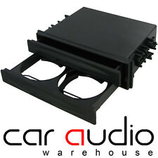 MITSUBISHI Car Stereo Universal Storage Tray Box & Cup Bottle Can Drinks Holder