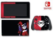 Harley Quinn Batman animé JOKER fille Jeu decal revêtement Pour NINTENDO Switch
