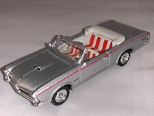 """1966 Pontiac GTO Convertible by New Ray 2000 Silver 4.5"""" Long"""