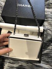 Chanel Box Bag White Rare