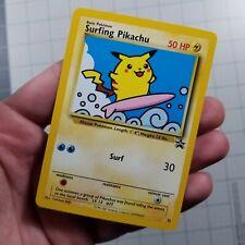Surfing Pikachu # 28 Black Star Promo WOTC Rare EX/NEAR MINT Pokemon Card