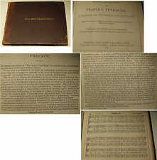 The People's Tune-Book: A Manual of Psalmody for Scotland ed. William Smith 1869