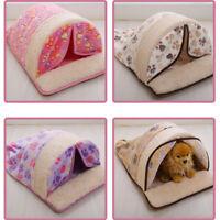 Pet Cat/Dog Washable Soft Warm House Nest Kitty Puppy Bedding House Sleeping Bag