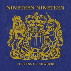 1919 - Citizens Of Nowhere - 2021 Studio Album! CD Digi-pack (goth, killing joke