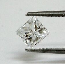 GIA loose certified princess diamond 1.00ct VS1 D 5.71x5.33x4.16mm vintage