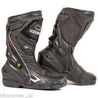 Richa Tracer Evo Boot 100 % Waterproof Motorbike/Motorcycle Racing Style Boot QZ