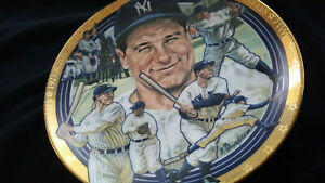 Lou Gehrig - New York Yankees - Hamilton Collection Ltd Ed - # 3911B - 7.5 in