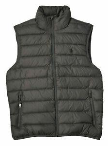 NEW Polo Ralph Lauren Men's Down Packable Puffer Vest Jacket