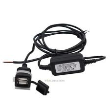 Universal 3A Waterproof Car Motorcycle SAE To USB Charger Adaptor DC 12V / 24V