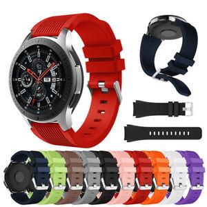 Stylish Soft Silicone Wrist Bracelet Band Strap for Samsung Galaxy Watch 46mm