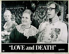 LOVE AND DEATH 1975 Woody Allen LOBBY CARD #4