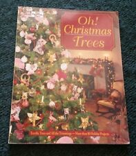 Oh! Christmas Trees BOOK by That Patchwork Place Staff - Barbara Weiland