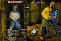 "NECA - IRON MAIDEN - PIECE OF MIND - EDDIE 8"" CLOTHED Figur - BOX NEU/OVP"