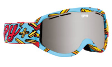 Spy Cadet Snow Goggles Kids Youth Ski Snowboard Gear Pizza vs French Fries NEW