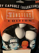 NECA Toy Capsule Collectibles  UNIVERSAL MONSTERS Edition BRAND NEW 2021