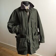 vtg BARBOUR A1005 DOUBLE LAYER VENTILE COTTON ENDURANCE JKT MADE ENGLAND XXL 48