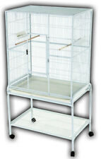 """32""""x21"""" Flight Cage & Stand Metal"""