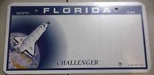 Florida Sample Prototype License Plate Blank Challenger