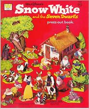 Miniature -  vintage   Cut-Me-Out SNOW WHITE Paper Dolls  - Dollhouse 1:12 scale