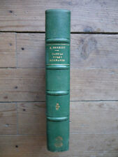 Dans la forêt normande.  Edouard Herriot . Reliure. Hachette, 1926.