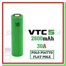 Batteria 1865O VTC5 Pila Ricaricabile Litio 2600mAh 30A Li-ion Lithium vape