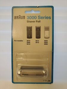 Braun 3000 Series Shaver Foil Cutterblock Genuine Sealed Package