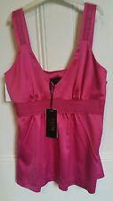 Bnwt CCDK TK Maxx designer pink satin feel top  size36 size 10 rrp £79