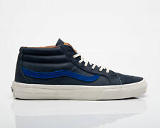 Vans California Sk8 Mid CA Men's Navy Blue White Lifestyle Casual Sneakers