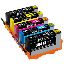 5 Pack HP 564XL New Gen HP Ink Cartridge for Photosmart 7510 7515 7520 7525