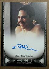 Stargate Universe SGU Autograph Card - Zak Santiago (Rivers)