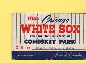 1955 Pass Ticket Harry Agganis last GM/Last Hit At Chicago White Sox Vs Red Sox