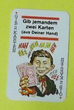 Ersatzkarte Mad Kartenspiel // Gib 2 Karten - Rot