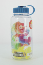 Officially Licensed Super Mario Water Bottle With Freezable Stars Travel Cup