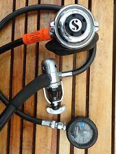 Scuba diving regulators, vintage Scubapro MK, R108HP & spg - display or service.