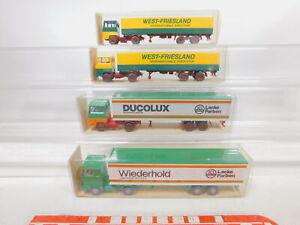 CA233-0, 5 #4x wiking 1:87/H0 Lorry Ford: 530+540+24 540, Mint +Box