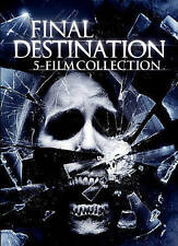 Final Destination: 5 Film Collection (DVD, 2015, 5-Disc Set) Brand New