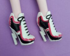 Monster High Doll Fearleading Shoes Meowlody Purrsephone Toralei Dracula Cleo
