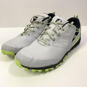 New Balance Mens Nbg1006grg Grey/Green Golf Shoes Size 14 : NO INSOLES