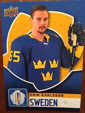 2016 UD World Cup Of Hockey Erik Karlsson WCHA-36