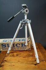 Slick Master Tripod Lightweight Alloy 3 Stage Legs Vintage Professional Studio