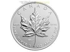 5 $ Dollar Maple Leaf WMF Berlin Privy Mark Replica Kanada 2014 PP 1 oz Silber