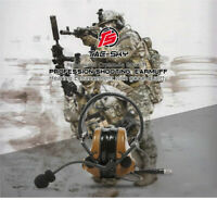 TACTICAL-SKY Comtac-III/C3 Tactical Headset for PTT PRC148 152 Silicone Stocked