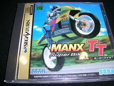 Sega Saturn Manx TT Super Bike Japan SS