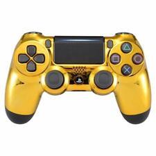 Custom PlayStation 4 Controller - Gold Chrome Dualshock Wireless PS4 V2 Pad