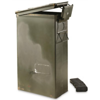 PA-124 60mm Ammo Can U.S. Military Surplus Issue Waterproof Storage Collectible
