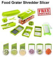 Food Grater Slicer Chopper Salad Cheese Shredder Vegetable Fruit Cutter Mandolin