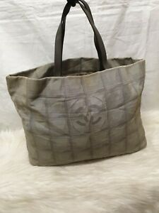 Genuine Chanel Tote Nylon Bag