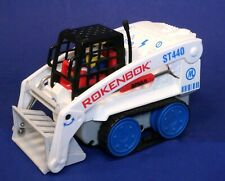 Classic Rokenbok Motorized RC Skip Track Loader Truck w/ Driver ST440