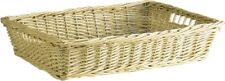 Wicker Willow Storage Tray Gift Hamper Bread Fruit Display Basket Large or Small